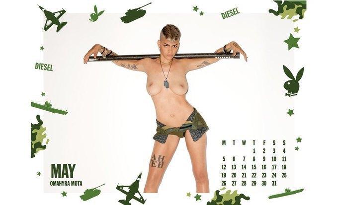 7 эротических календарей на 2014 год. Изображение № 17.