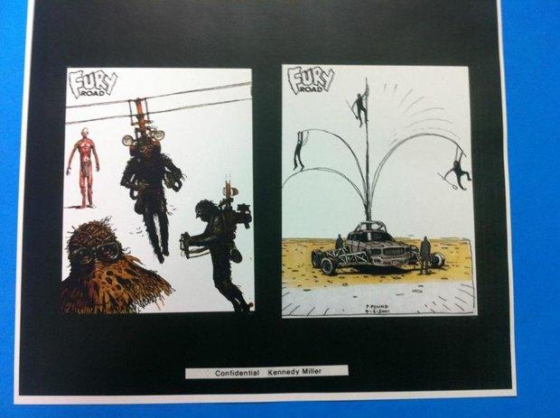 Опубликованы первые концепт-арты фильма «Безумный Макс: Дорога ярости». Изображение № 13.