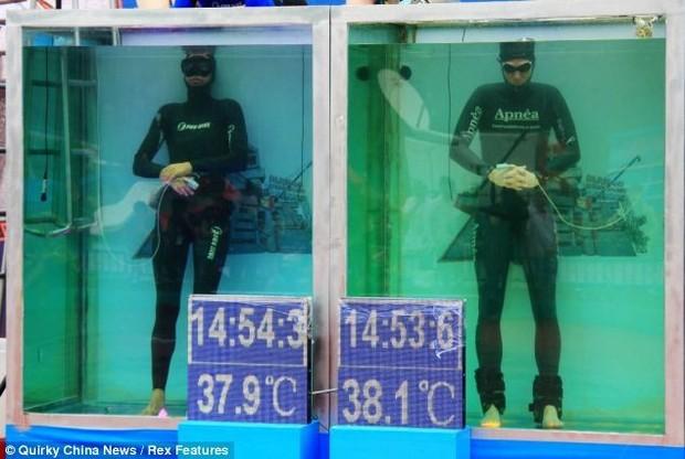 Немецкий спортсмен побил мировой рекорд, задержав в воде дыхание на 22 минуты. Изображение № 1.