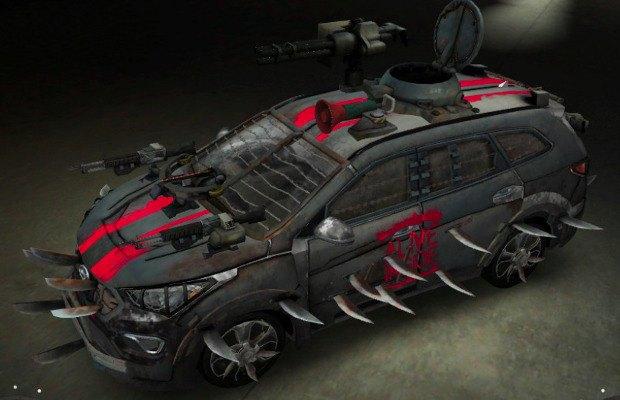 Hyundai анонсировали новый вариант автомобиля для зомби-апокалипсиса. Изображение № 3.