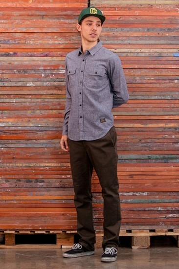 Марка Obey опубликовала лукбук осенней коллекции одежды Holiday. Изображение № 15.
