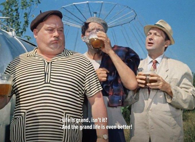 Крылатые фразы из отечественных фильмов в американском прокате. Изображение № 16.