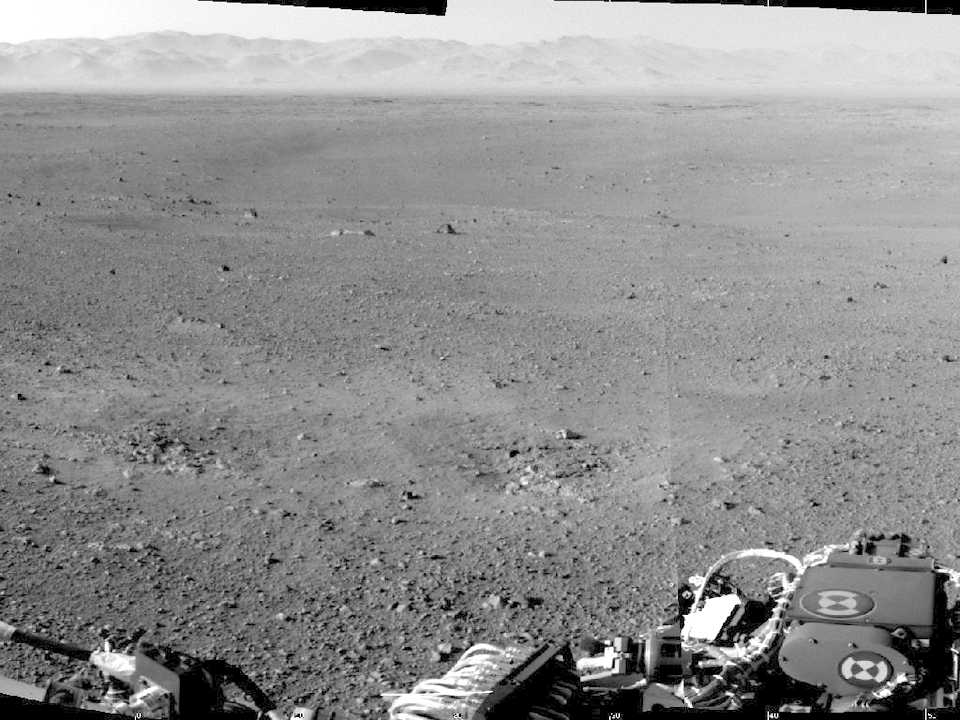10 фотографий с марсохода Curiosity и поверхности Красной планеты. Изображение № 10.