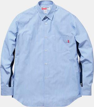 Марки Supreme и Comme des Garсons Shirt выпустили лукбук совместной коллекции одежды. Изображение № 14.