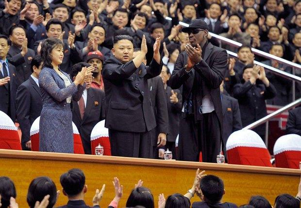 Деннис Родман поделился фотографиями из КНДР. Изображение № 9.
