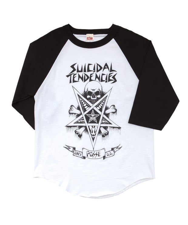 Марки Obey и группа Suicidal Tendencies выпустили совместную коллекцию одежды. Изображение № 6.
