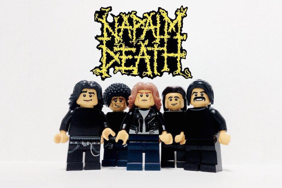 Lego-go: Культовые группы в виде фигурок из конструктора LEGO. Изображение № 13.