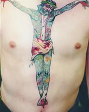 Хруст костей: Интервью с татуировщиком Дмитрием Речным. Изображение № 35.