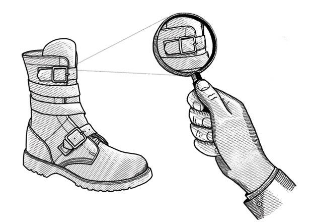 Внимание к деталям: Как появились ремни на ботинках. Изображение № 1.