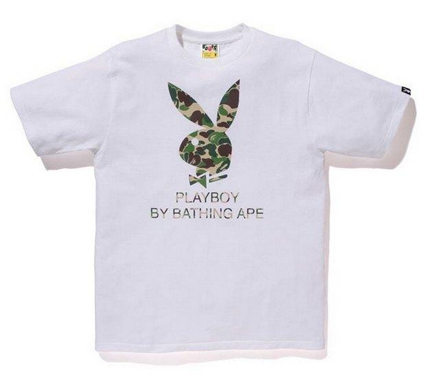 A Bathing Ape и Playboy представили совместную коллекцию одежды. Изображение № 1.