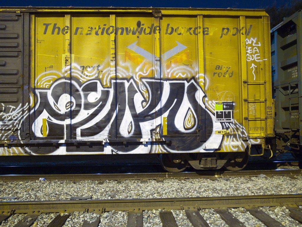 True 2 Death: Блог о разрисованных поездах из Южной Калифорнии. Изображение № 6.