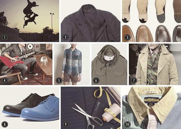 Изображение 31. Men's Digest: обложка Fantastic Man, блог Free/Man о мужских браслетах, распродажа Code7.. Изображение № 33.