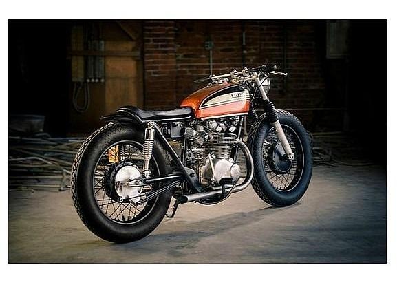 Сайт Bike EXIF выпустил календарь с кастомизированными мотоциклами. Изображение № 11.
