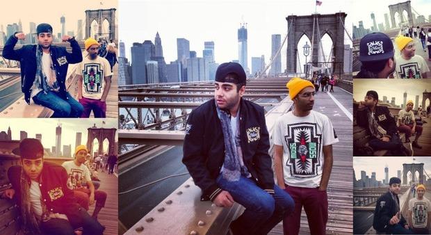 Хип-хоп коллектив Das Racist снялся в осеннем лукбуке марки Moss. Изображение № 1.