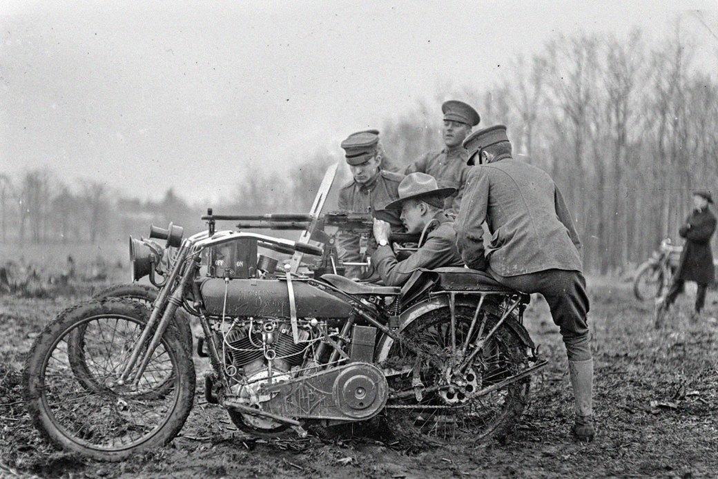 Железный конь: Как мотоциклы использовали в военных действиях. Изображение № 3.