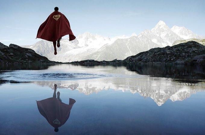Одиночество — скука: Одинокие супергерои во французских Альпах. Изображение № 1.