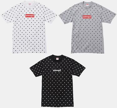 Марки Supreme и Comme des Garсons Shirt выпустили лукбук совместной коллекции одежды. Изображение № 8.
