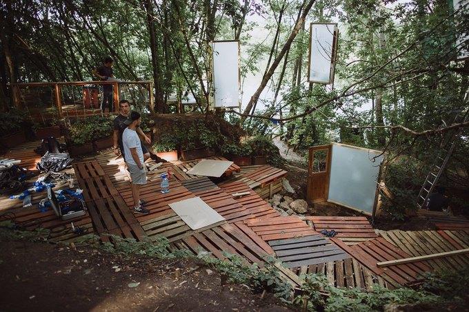Фоторепортаж: Строительство объектов фестиваля Outline. Изображение № 18.