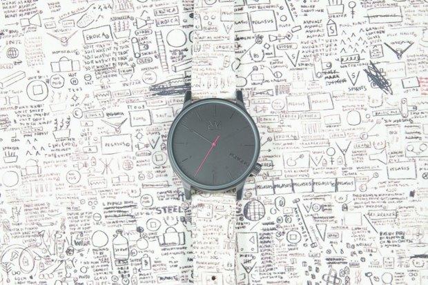 Марка Komono выпустила часы, оформленные работами Жан-Мишеля Баския. Изображение № 4.