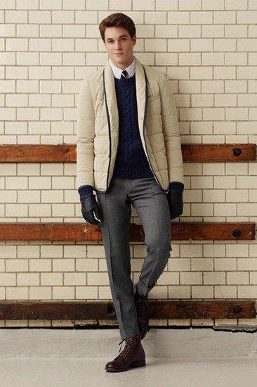 Марка Gant Rugger опубликовала лукбук осенней коллекции одежды. Изображение № 15.