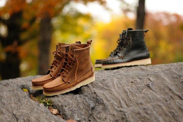 Марка Sebago и дизайнер Ронни Фиг выпустили совместную коллекцию обуви. Изображение № 11.