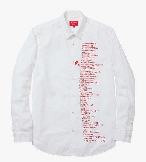 Supreme выпустили коллекцию одежды с работами Жан-Мишеля Баския. Изображение № 12.