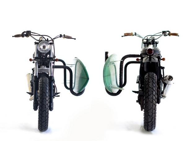 Мастерская Deus Ex Machina выпустила кастомный мотоцикл на базе Suzuki DR650. Изображение № 5.