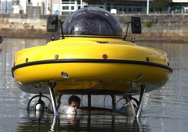 Англичанин разработал подводную лодку-амфибию с революционным гироскопическим генератором. Изображение № 1.
