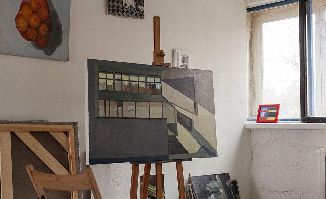 Дом культуры: Молодые московские художники и их мастерские. Изображение № 27.