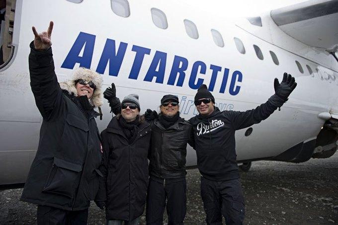 Metallica отыграла концерт в Антарктиде. Изображение № 1.