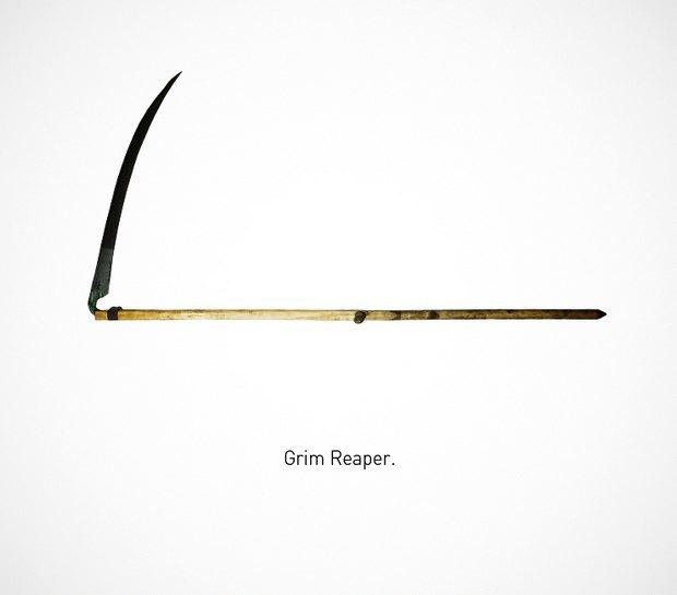 Итальянский дизайнер представил коллекцию ножей знаменитых персонажей. Изображение № 26.