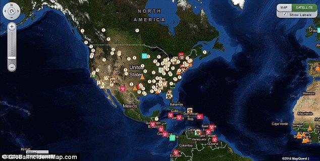 Создана интерактивная карта эпидемий. Изображение № 5.