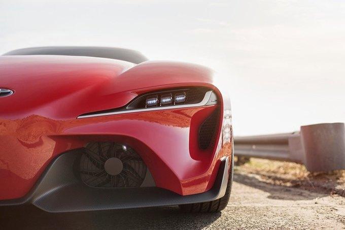 Toyota представила концепт спорткара FT-1. Изображение № 6.