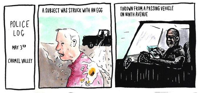 Police Log Comics: Абсурдные полицейские сводки в формате комиксов. Изображение № 12.