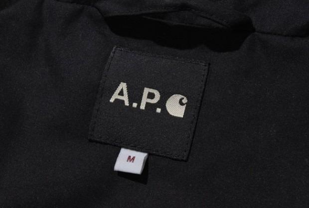 Марки A.P.C. и Carhartt WIP представили совместную коллекцию одежды. Изображение № 11.