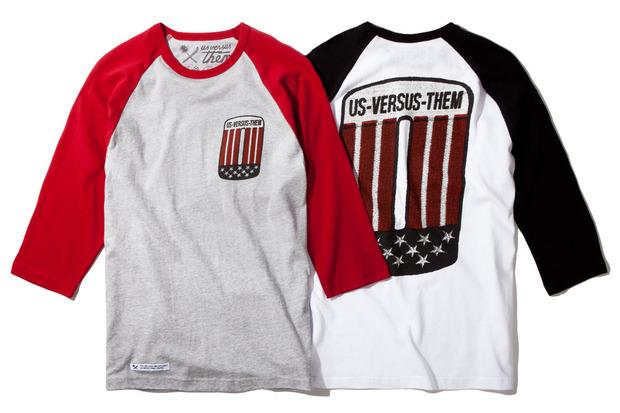 Американская марка Us Versus Them представила осеннюю коллекцию одежды. Изображение № 4.