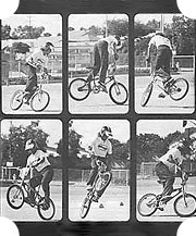 В 1979 году Боб Харо демонстрирует в журнале Skateboarder трюк rock walk – один из основных в стиле катания «флэтленд» (выполнение акробатических трюков на ровной поверхности).. Изображение № 15.