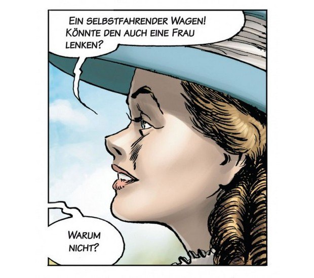 Вышли комиксы об изобретателе автомобиля Карле Бенце. Изображение № 3.