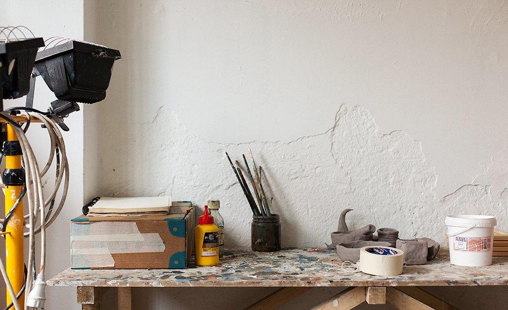Дом культуры: Молодые московские художники и их мастерские. Изображение № 28.