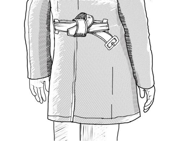 Совет: Как завязывать пояс на тренче. Изображение № 10.