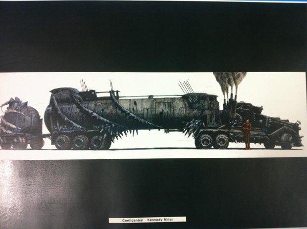 Опубликованы первые концепт-арты фильма «Безумный Макс: Дорога ярости». Изображение № 18.