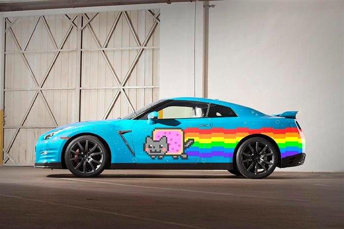 Nissan предложили Deadmau5 новый Nyan Cat взамен Ferrari. Изображение № 1.