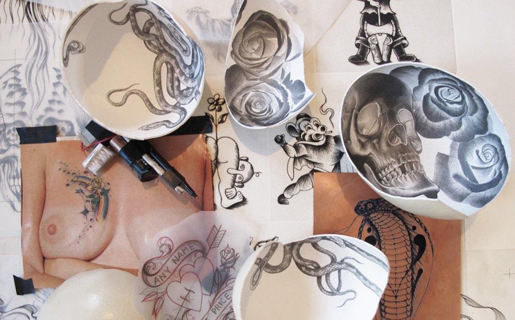 Как Скотт Кэмпбелл изменил мир современной татуировки. Изображение № 5.