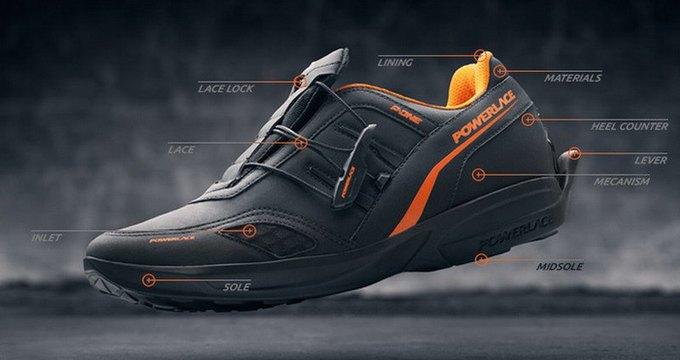 Powerteam анонсировали кроссовки с самозастёгивающейся системой. Изображение № 1.