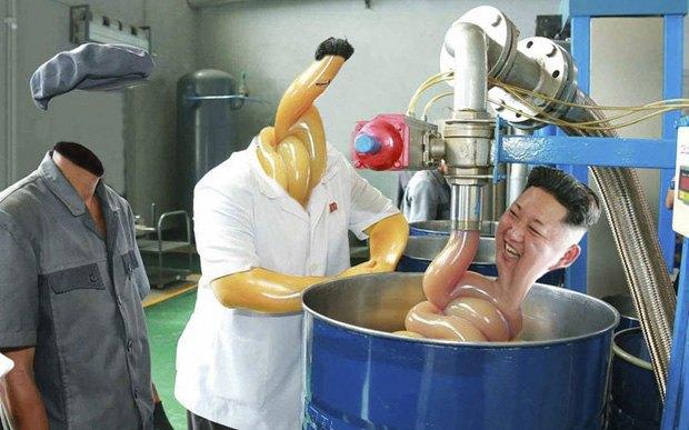 Поход Ким Чен Ына на завод смазок стал новым интернет-мемом . Изображение № 4.
