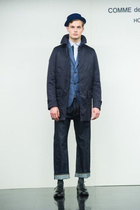 Марка Comme des Garçons Homme опубликовала лукбук новой коллекции. Изображение № 3.