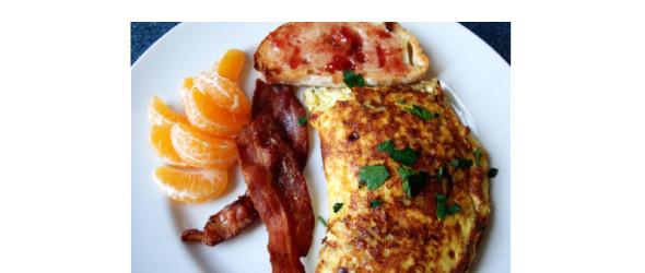 Изображение 2. Завтрак: омлет «Король дорог».. Изображение № 1.