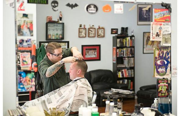 The Belmont Barber Shop, стрижка от $17. Изображение № 11.