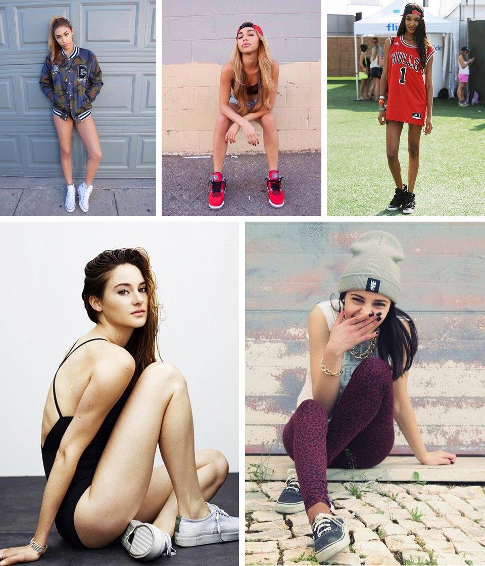 Sneaker porn: 10 Tumblr-блогов с красивыми девушками в кроссовках. Изображение № 9.