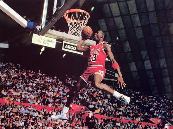 Баскетболист Chicago Bulls Майкл Джордан. Изображение №20.